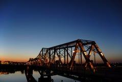 alexandria bro fotografering för bildbyråer
