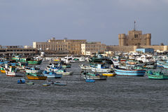 Alexandria Citadel royalty free stock photography