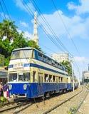 Alexandria double-deck tram Royalty Free Stock Photos
