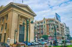 Chamber of Commerce in Alexandria, Egypt Stock Photography