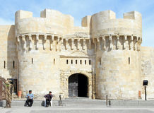 Alexandria fortress Royalty Free Stock Images