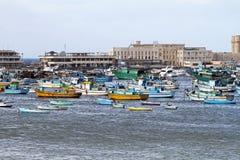 Alexandria harbour royalty free stock image