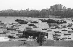 Alexandria Marina imagen de archivo libre de regalías
