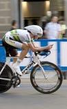 Alexandria Nicole, 2d lugar, de AUS. Championshi do mundo da estrada de UCI Imagem de Stock