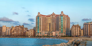 Alexandria San Stefano Skyline Royalty Free Stock Photos