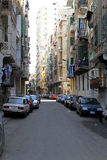 Alexandria-Straße Stockbilder