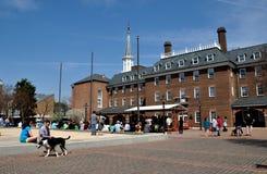 Alexandria, VA: Marktplatz lizenzfreies stockfoto