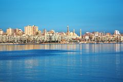 Alexandria view, Egypt stock images