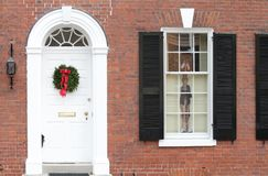 Alexandria, Virgínia, casa Imagem de Stock Royalty Free