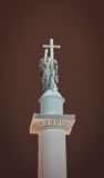 Alexandrine column. Palace square. Saint-Petersburg. Russia Royalty Free Stock Photo