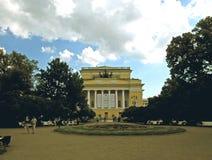 The Alexandrinsky Theatre Stock Photo