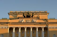Alexandrinsky Theatre, Saint Petersburg. Royalty Free Stock Images