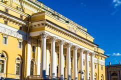 Alexandrinsky Theatre in Saint Petersburg Stock Images