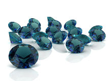 Alexandrite. (high resolution 3D image Stock Images