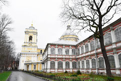 Alexandro-Nevskay Lavra in St.Peterburg Stock Photography