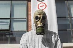 Ογκώδης προς τα εμπρός ενάντια στην εξόρυξη χρυσού Στοκ φωτογραφία με δικαίωμα ελεύθερης χρήσης