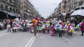 ALEXANDROUPOLIS, GRÈCE - 16 MARS : Participant non identifié de Image libre de droits