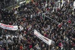 Massiccio in avanti contro estrazione dell'oro Fotografia Stock Libera da Diritti