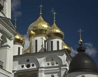 Alexandrov. Koepels. Rusland Royalty-vrije Stock Afbeeldingen