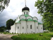 Alexandrov, Rusland, kerk Stock Foto's