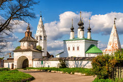 Alexandrovsky monastery in Suzdal, Russia Stock Photography