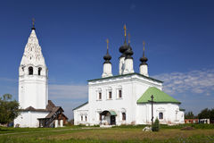 Alexandrovsky monastery in Suzdal. Russia Royalty Free Stock Photography