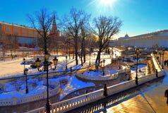 Alexandrovsky park Stock Images