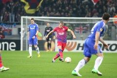 Steaua Bucareste - Chelsea Londres Imagem de Stock Royalty Free