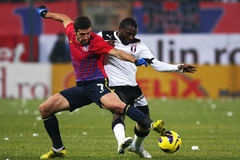 FC Steaua Bucharest- FC Astra Giurgiu Royalty Free Stock Photo