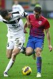 Medios de FC Steaua Bucarest FC Gaz Metan Fotos de archivo