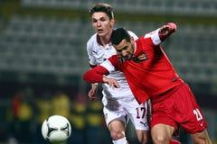 FC Błyskawiczny Bucharest - FC Dinamo Bucharest Obrazy Royalty Free