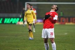FC Dinamo Bucharest FC Brasov Lizenzfreie Stockfotos
