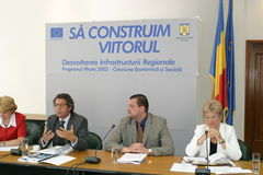 Alexandru Farcas. Romanian former Secretary of State in MAI Stock Photography