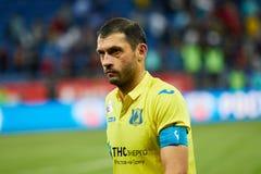 Alexandru Gatcan del FC Rostov desanimado foto de archivo libre de regalías