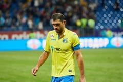 Alexandru Gatcan del FC Rostov desanimado imágenes de archivo libres de regalías