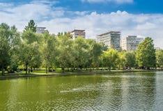 Alexandru Ioan Cuza Park fotografía de archivo