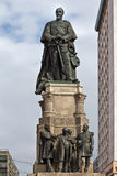 Alexandru Ioan Cuza statue Royalty Free Stock Photography
