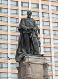 Alexandru Ioan Cuza statue Stock Image