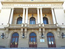 Alexandru Ioan Cuza University in Iasi Royalty Free Stock Photo