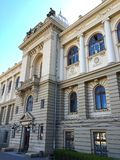 Alexandru Ioan Cuza University in Iasi Royalty Free Stock Photos
