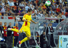 Alexandru Matel in Romania-Turkey World Cup Qualifier Game Royalty Free Stock Photography