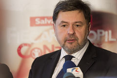 Alexandru Rafila obrazy stock