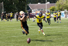 Alexeev Grigoriy (48) catch the ball Royalty Free Stock Images