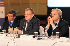 Alexei Kudrin Stock Photography