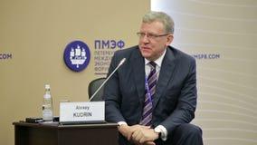 Alexei Kudrin stock video
