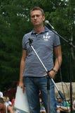 Alexei Navalny en el foro Antiseliger Foto de archivo
