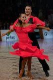 Alexei Silde e Anna Firstova Fotografia de Stock Royalty Free