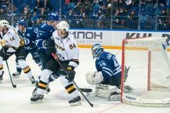 Alexei Ugarov 84 auf Hockeyspiel Lizenzfreies Stockfoto