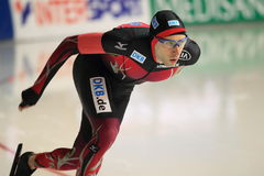 Alexej Baumgärtner - speed skating Royalty Free Stock Photo