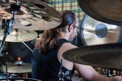 Alexey Bobrovsky melodiskt trumma Fotografering för Bildbyråer